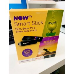 Smart Stick di Now Tv con inclusi tre mesi di Cinema, Serie Tv e intrattenimento